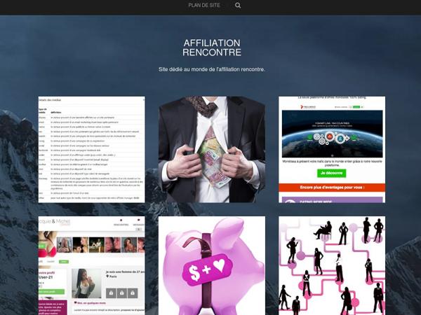 Affiliation Rencontre : Site dédié au monde de l'affiliation rencontre.