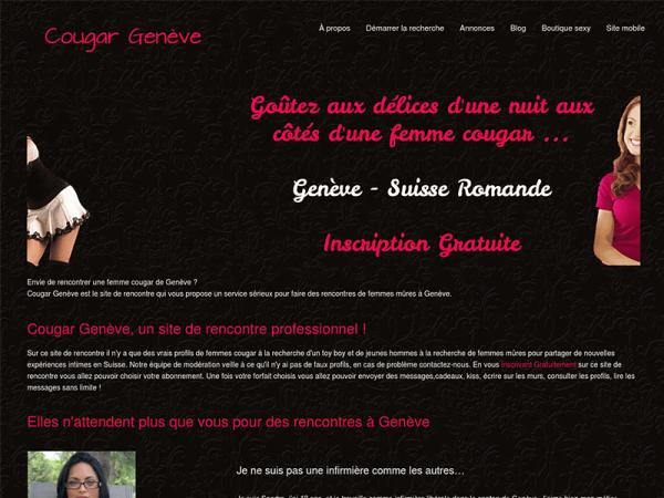 Rencontrez les femmes mûres et mature de Suisse sur Cougar Genève