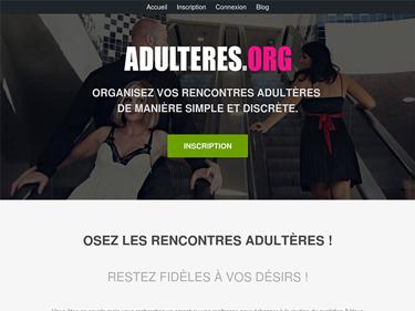 Adulteres.org : site de rencontre adultère ★★★