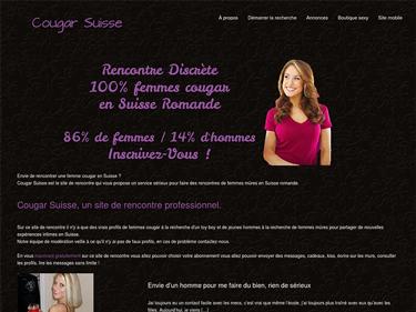 Rencontrez les femmes mûres et mature de Suisse sur CougarSuisse.ch