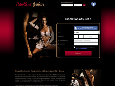 Adultère Genève : Site de rencontre extraconjugale à Genève en Suisse